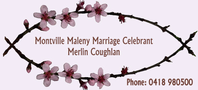 Montville Maleny Marriage Celebrant logo